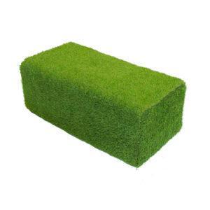 Пуф из травы прямоугольный