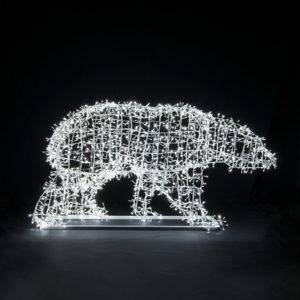 Объемная световая фигура Медведь