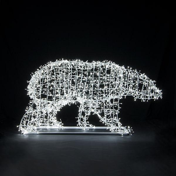 Аренда светового медведя